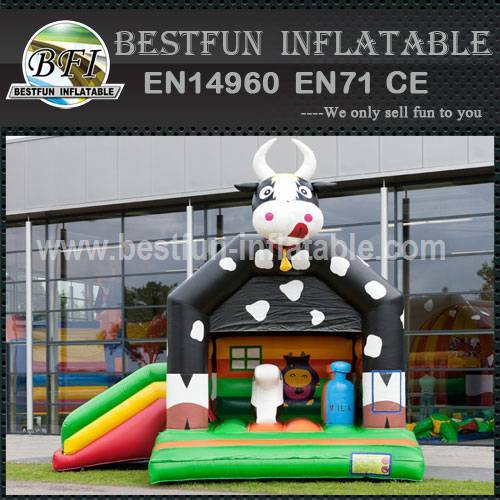 Customize inflatable bouncy slide