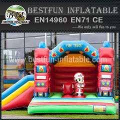 Commercial kid inflatable bouncy slide