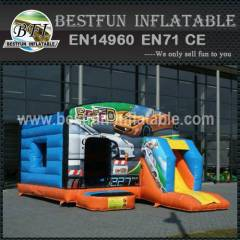 Inflatable bouncy slide toys