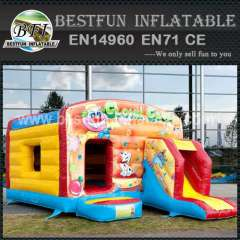Inflatable bouncy slide castle china