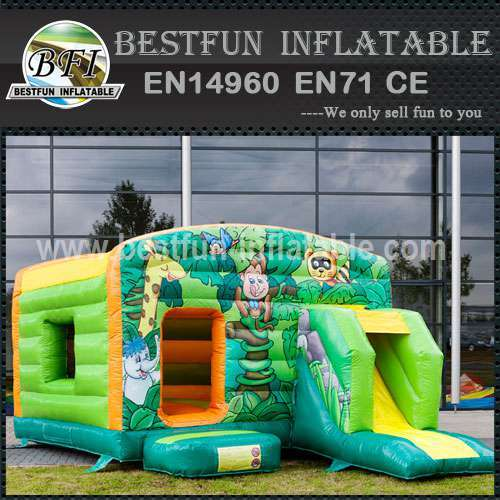 Inflatable bouncy slide cheap