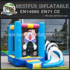 Kids small inflatable bouncy slide