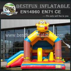 Custom inflatable bouncy slide