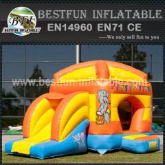 Happy hop inflatable bouncy slide