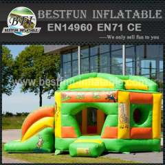 Hire inflatable bouncy slide