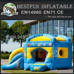 Home use inflatable bouncy slide