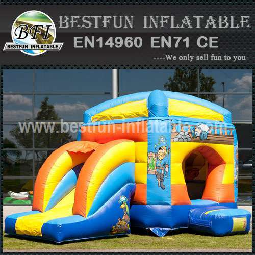 High quality inflatable bouncy slide