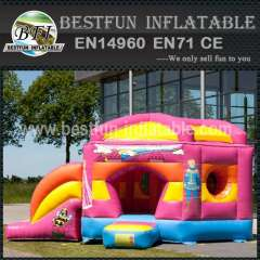 Industrial inflatable bouncy slide