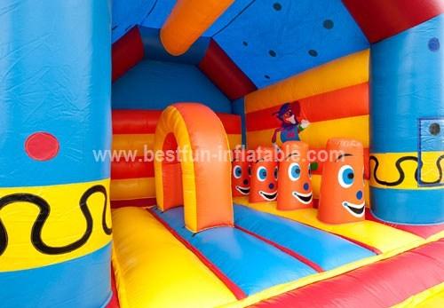 Clown Multifun inflatable combo