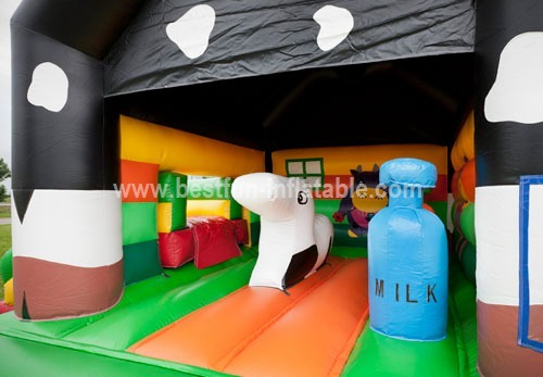 Cow Multifun inflatable combo