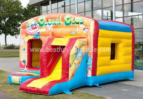 Maxi Multifun Clown bouncer