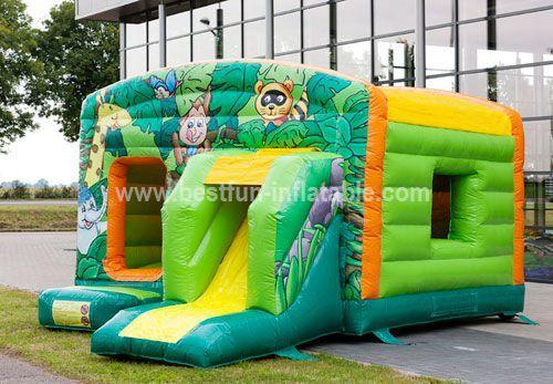 Maxi Multifun Jungle inflatable combo
