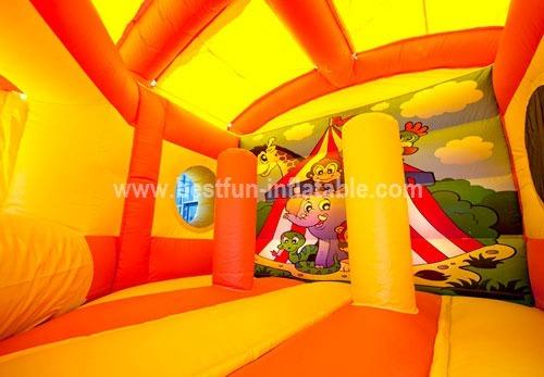 Pentagon Circus inflatable combo