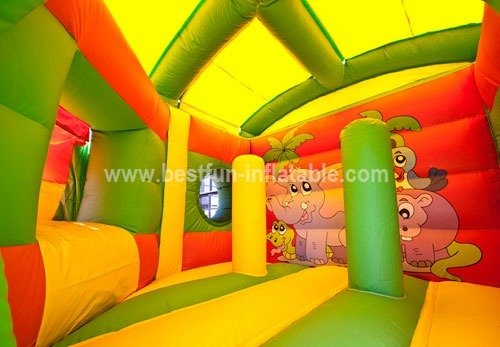 Pentagon Jungle bounce house