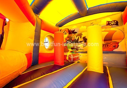 Pentagon Pirate bouncy slide