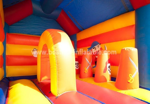 Pirate Multifun inflatable combo