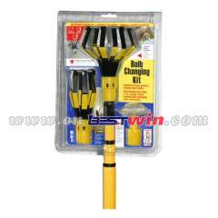 Extension-type 6pcs light bulb changer