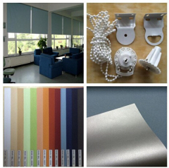 28MM/38MM Ready made curtain/polyester roller blind/roller shade