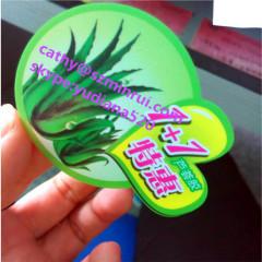 custom die cut any shap sale label for cosmetics jar