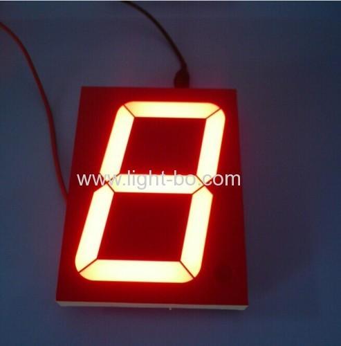 "4 inch led display;4 inch 7 segment display;4"" led display; common anode 4 inch 7 segment"