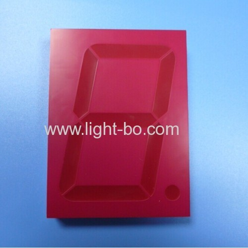red 4 inch 7 segment led display;4 inch led display; common anode 4 inch 7 segment