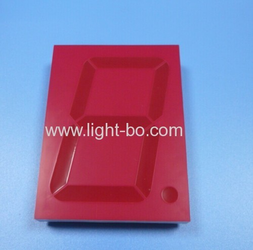Ultra red common anode 4 inch 7 segment led display for clock / timer / counter / digital indicator