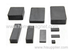 Bonded rare earth block magnet