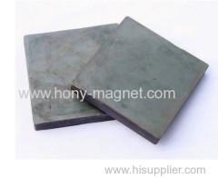 Bonded neodymium block magnet for motor