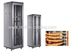 fiber optic floor-stand cabinet