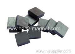 Rectangular bonded ndfeb bipolar magnet block