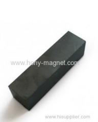 Black epoxy coating permanent block neodymium magnet