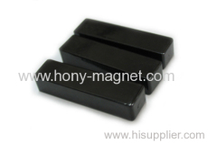 Thin plate bonded ndfeb quick release magnet block