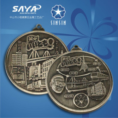 Custom design metal medal for sport