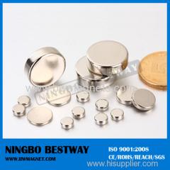 N45 D25x5mm NdFeB Manget Disc Neodymium magnet