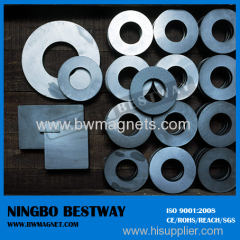 Block or Ring Hard Ferrite Magnet