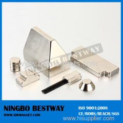 Rare earth Magnets with Ni / Zn coating