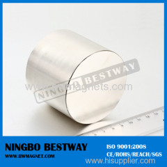 D10*10mm Cylinder neodymium magnet with two ditches