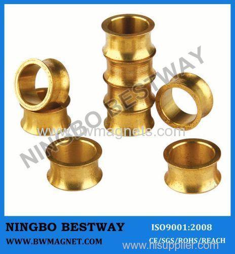 N35 NdFeB Magnet Ring Gold Coating