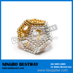 NdFeB Balls with silver or gold coating