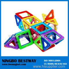 3-D 26pc Magnetic Building Construction Set Toys