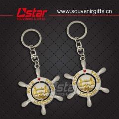 2015 fashion metal souvenirs keychain