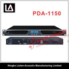 Professional 1 U Class D power amplifier PDA series with DSP PDA Series