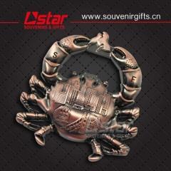 2015 lastest design metal feidge magnet
