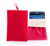 Christmas Promotion Colorful Velvet Phone Pouch