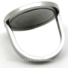 Christian jewelry cross stainless steel men's ring