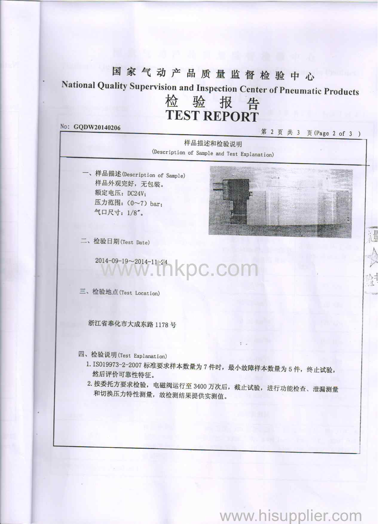 SY5120 test report