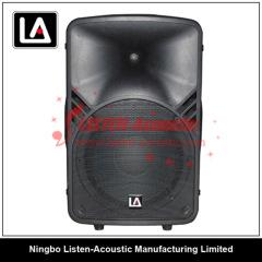 15 inch ABS 2-way full range speaker box with digital amplifier