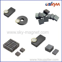 rare earth ferrite magnet for motor core