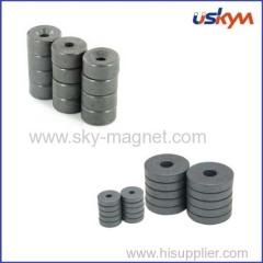 anisotropic ring ferrite magnet