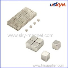 ndfeb magnet cube shape